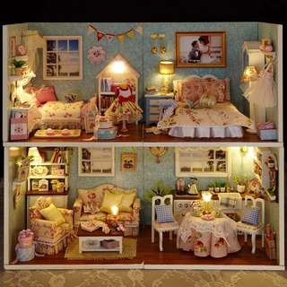 Cute Room DIY Miniature House Kit