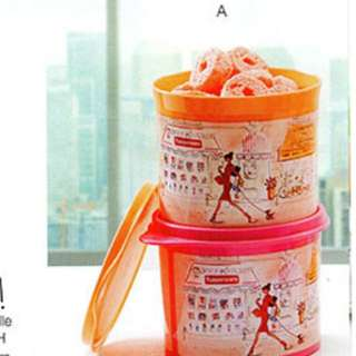 Tupperware Miss Belle Canister Set (2)
