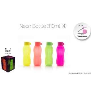 Tupperware Eco Bottle 310ml / Eco 310ml Neon / Neon Eco 310 Ml