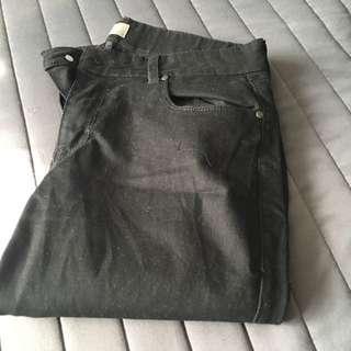 Black Skinny Jeans Size 27