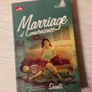 Marriage Of Convenience Novel