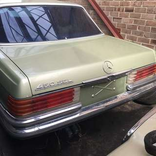 Mercedes 450sl 1974 Wrecking All Parts.