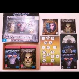 Starcraft 1&2 Complete Set