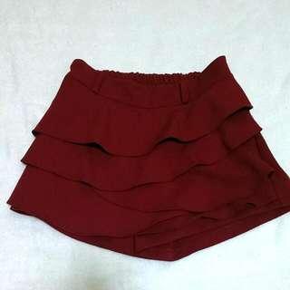 花瓣褲裙 #兩百元短褲