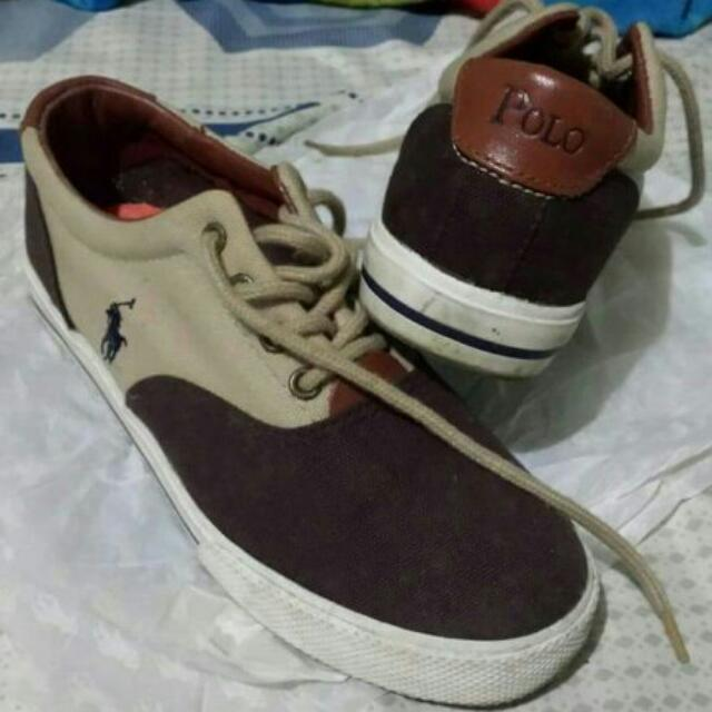 2nd hand authentic polo Sneakers Size 6 No Flaws