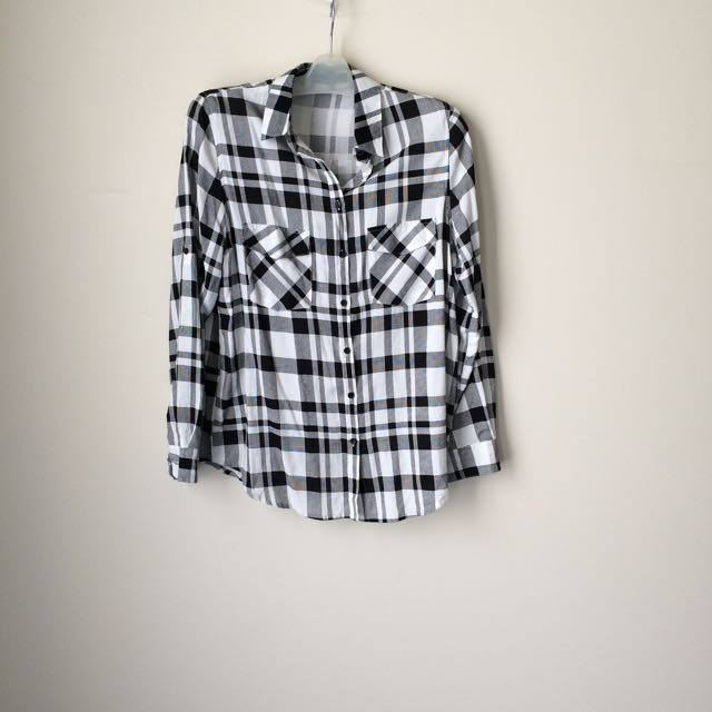 Ally Checkered Buttoned Shirt