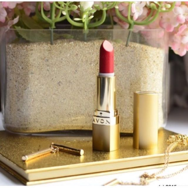 Avon ultra color rich 24k gold lipstick