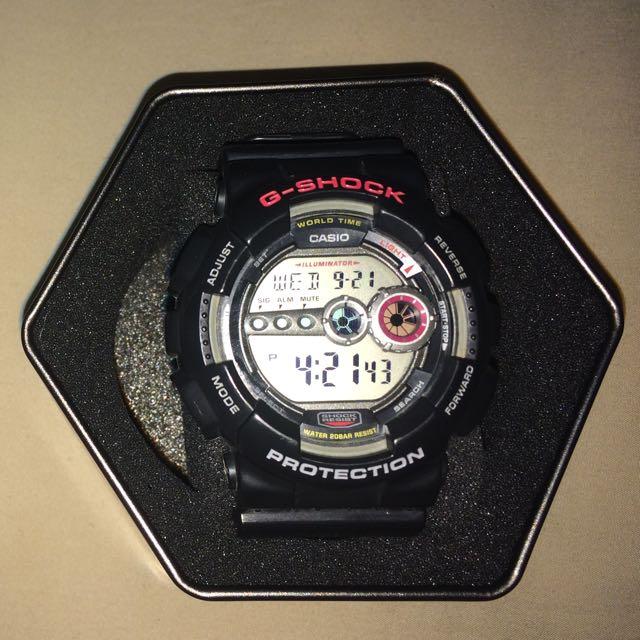 Black Casio G-Shock