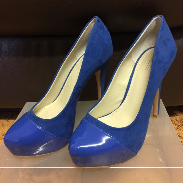 Blue Heels from Betts Size 6