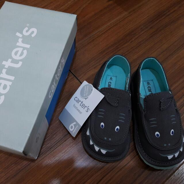 Brandnew Carter's Baby Boy Loafers Shoes Size 6