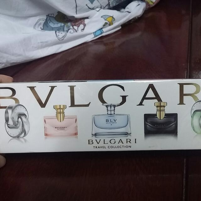 Bvlgar Perfume Travel Set
