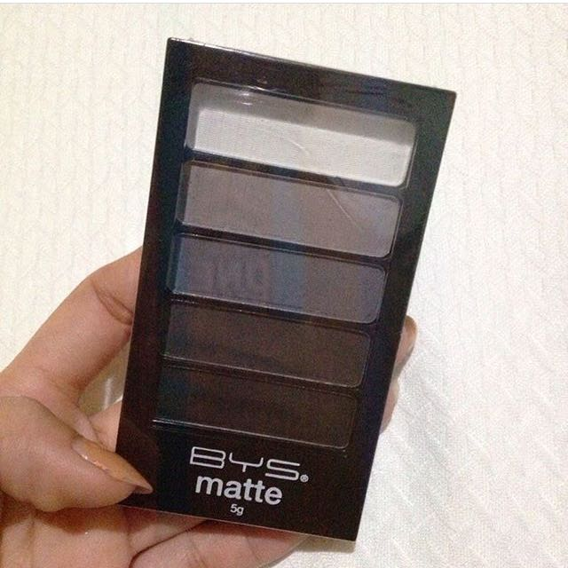 BYS Matte eyeshadow in deep space