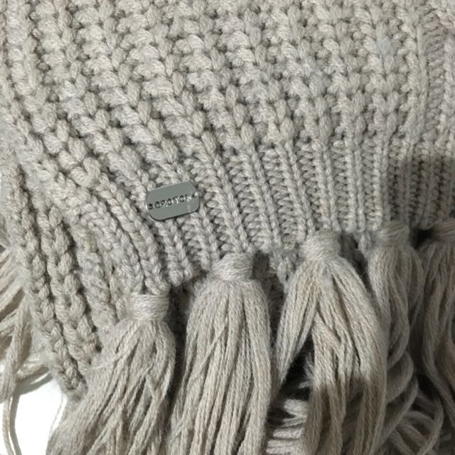 Mimico Cable Knit Scarf