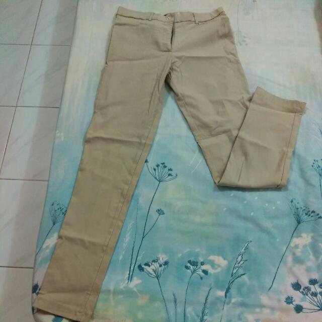 Celana Panjang Stretch, Size S