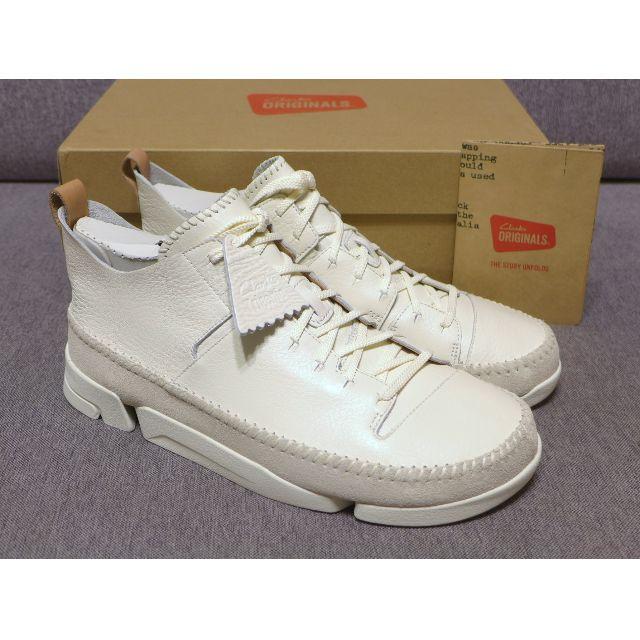 Clarks Trigenic Flex White 創新運動鞋白