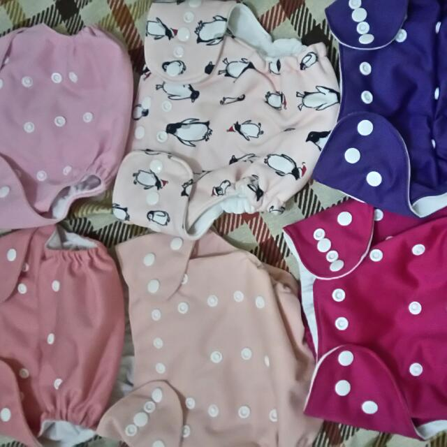 Cloth Diapers With 3L Mf With Free 2 Mf 3 Layered