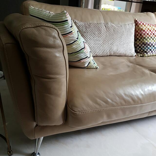 Domicil Adore Leather Sofa