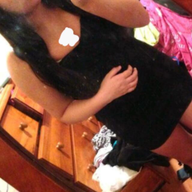Dotti Short Black Dress