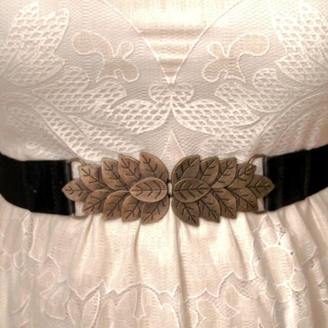 Elastic Leaf-clasp Waist Belt