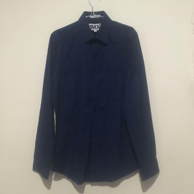 Express Navy Blue Shirt