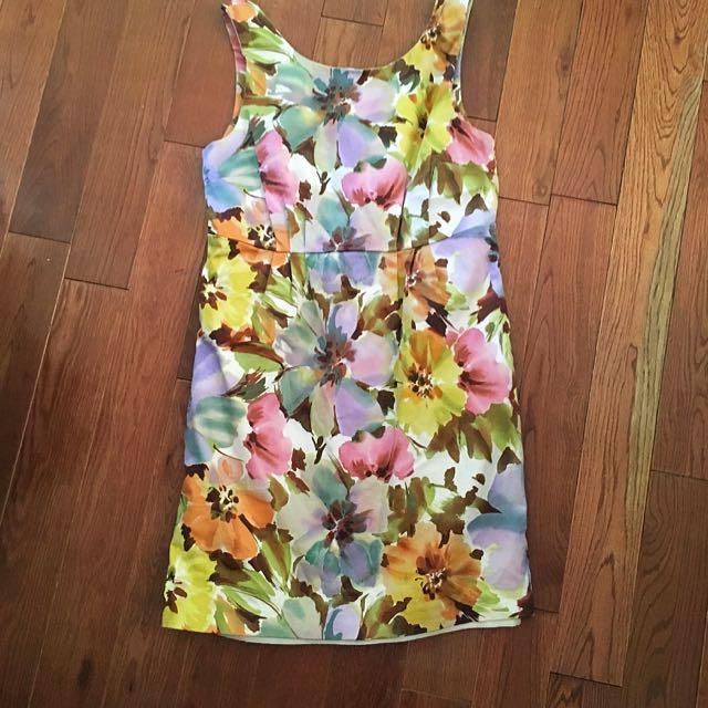 Floral Print Joe Fresh Dress (s)