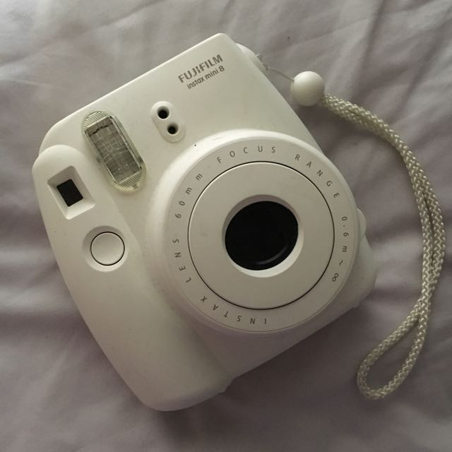 FUJIFILM Instax Mini 8 In Original White