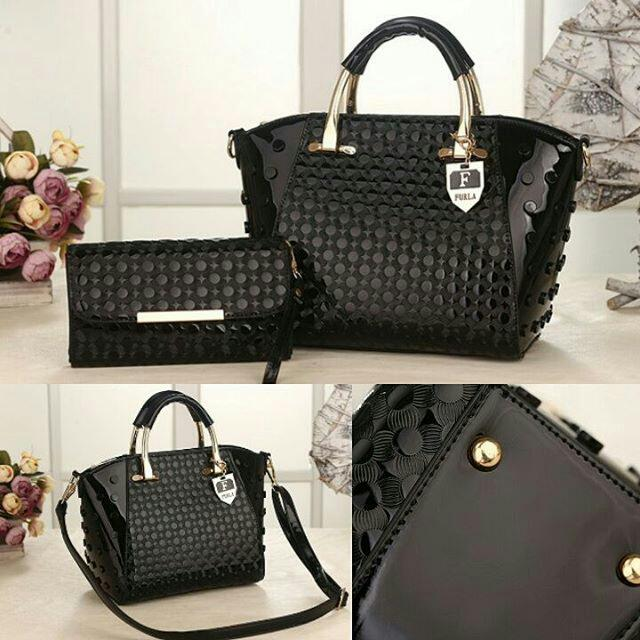Furla Bag 2in1 D1057 - Black