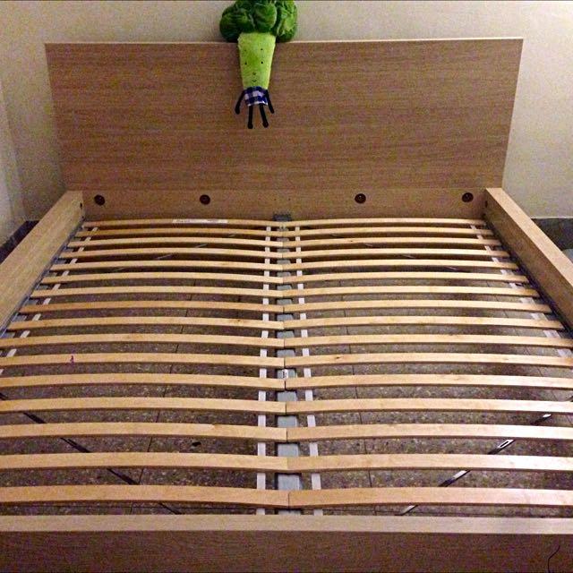 IKEA雙人加大床架