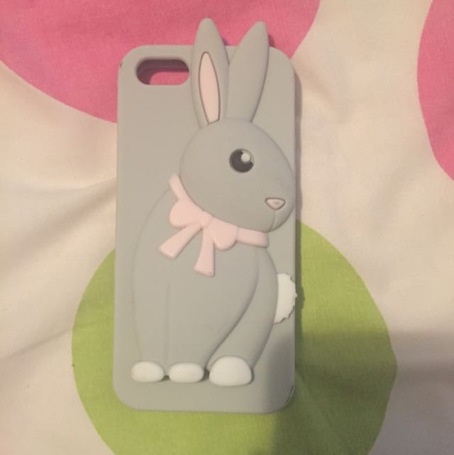 IPhone 5 Bunny Silicone Phone Case