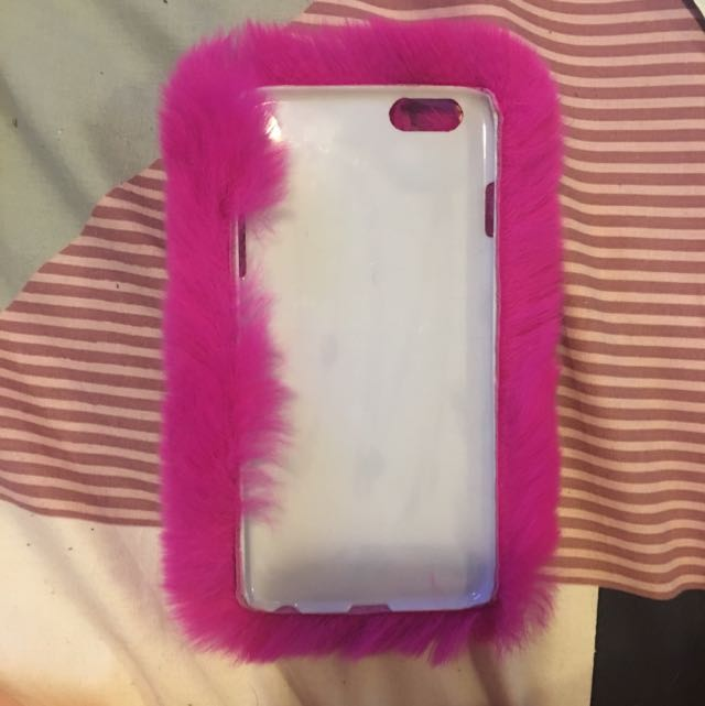 iPhone 6 Plus Fluffy Phone Cover