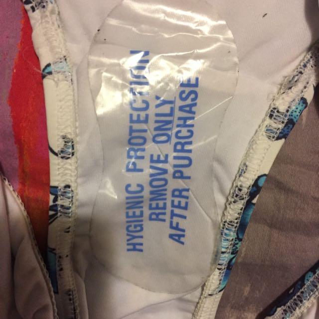 Jett's Blue Print Bikini Set Size 8