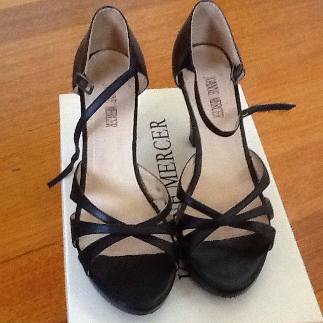 Joanne Mercer Peep Toe Heels. Size 37.5