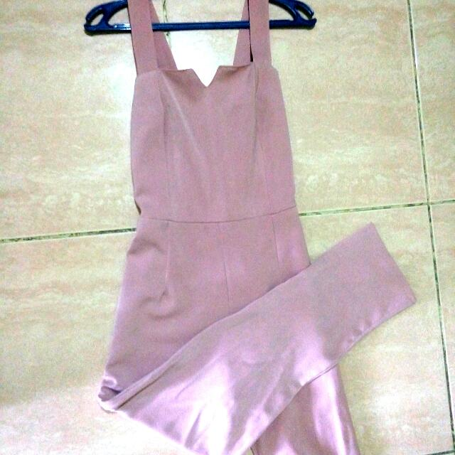 JUMPSUIT Pink (GOOD QUALITY)