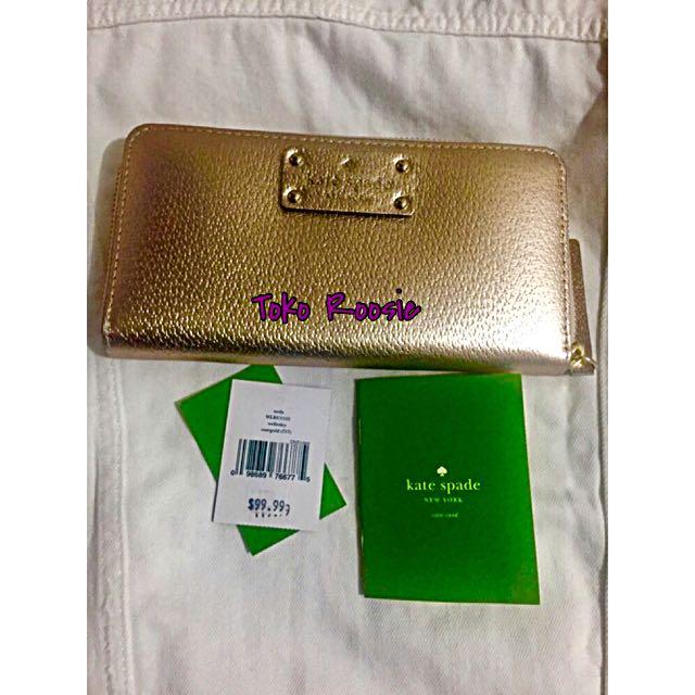 Kate Spade Wallet Gold