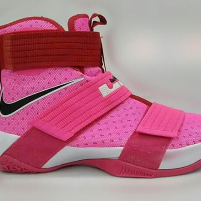 designer fashion 715eb 72fb1 pink lebron soldier 10 collection on Carousell