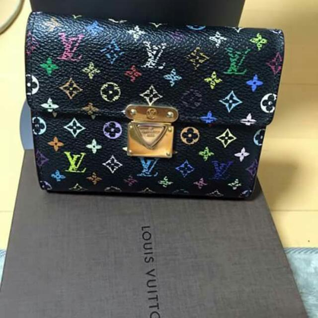 Louis Vuitton Multicolor Bifolded Wallet