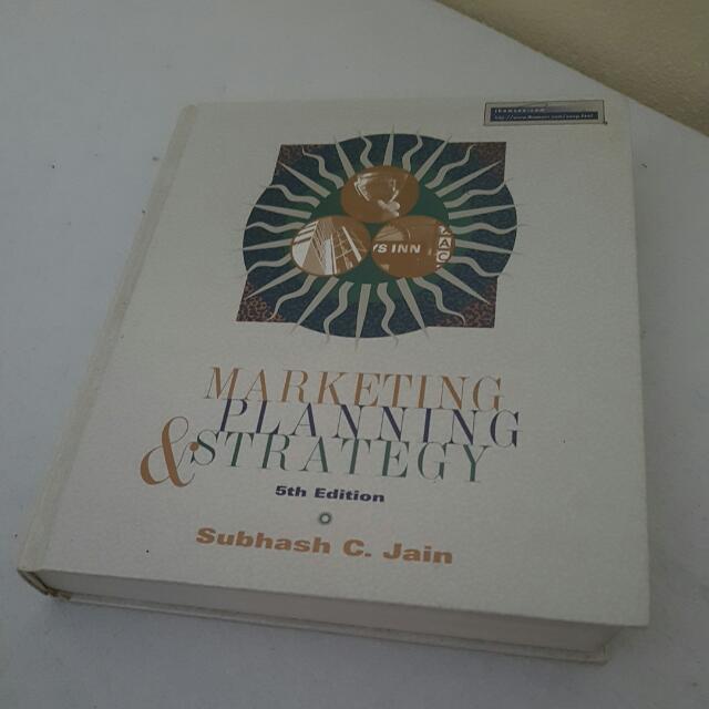 Marketing, Planning & Strategy - Subhash Jain 5e
