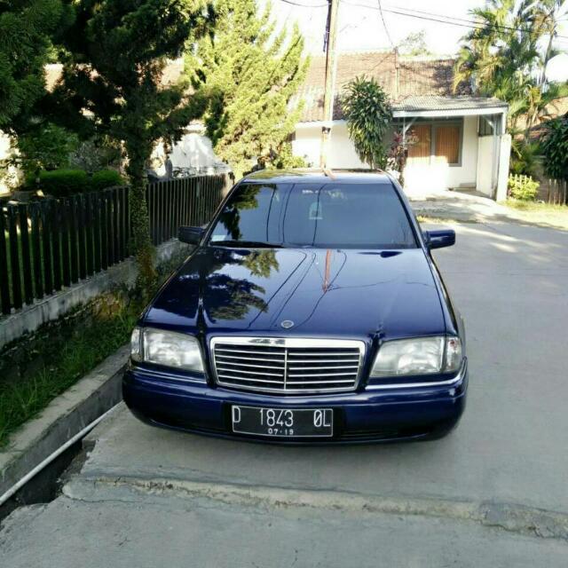 Mercedez benz c200 1996 automatic. Mesin kering ga ada PR tinggal pake. Mulus