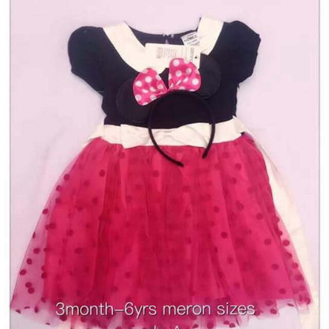 Mini Dress For Little Girl