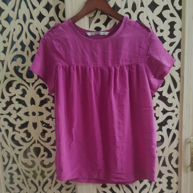 Minimal - Purple Blouse