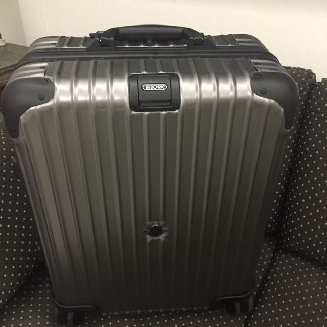 Moncler X Rimowa Latest Season Cabin Luggage, Luxury, Accessories on Carousell