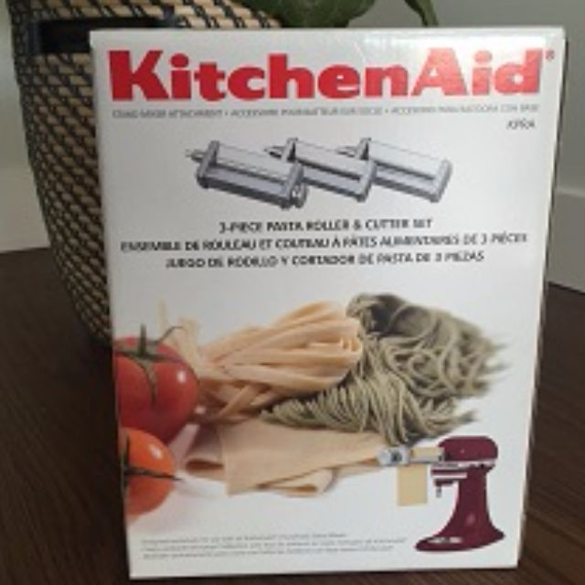 *on Hold* New KITCHENAID Three-Piece Pasta Roller and Cutter Set