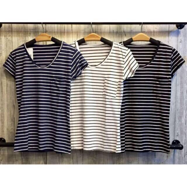NEW! Baju Stripe/ Stripe Shirt