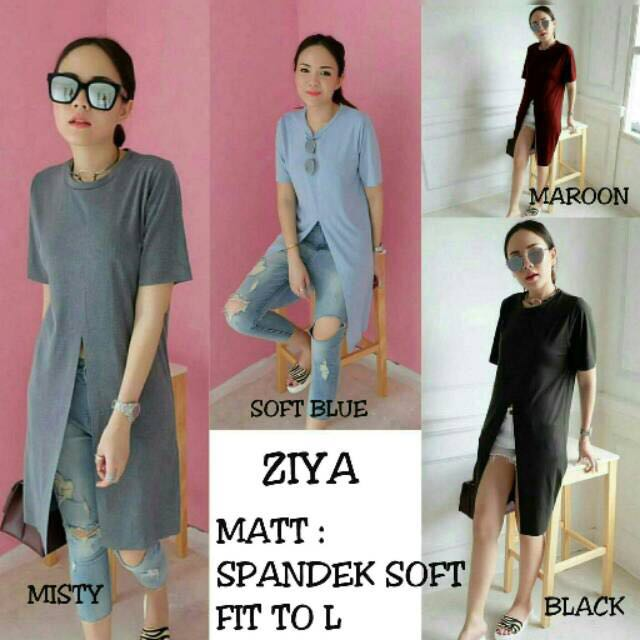 NEW! Blouse ZY (dress Bkk/ Dress Ziya/ Baju Bangkok/ Dress Murah/ Slit Dress/ H&m/ Forever21/ Outer/ Clutch)