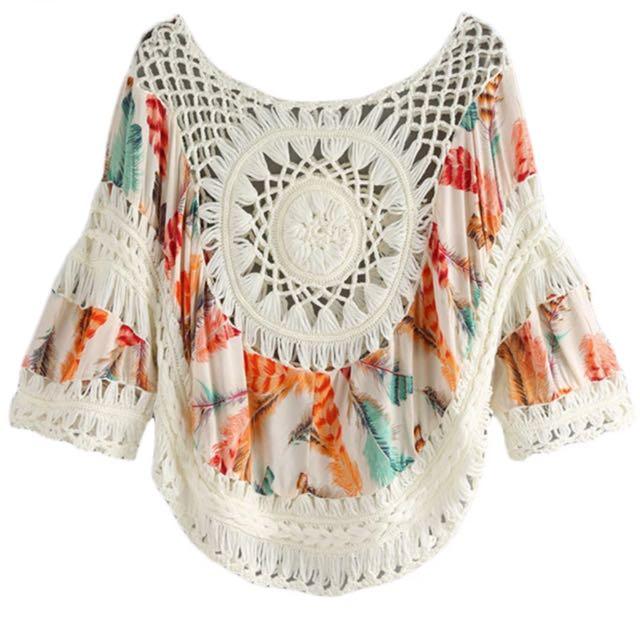 New Crochet Summer Top