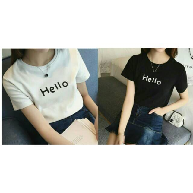 NEW! Hello Clothes (premium Quality/ Baju Bkk/ Outer/ Kaos Bkk/ Kaos Bangkok/ Kaos Murah/ Dress Bkk)