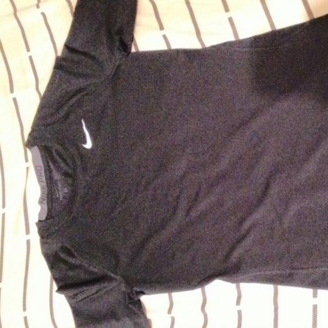 Nike 束衣 緊身衣 短t