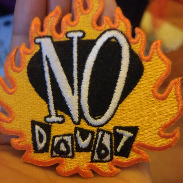No Doubt IRON-ON PATCH