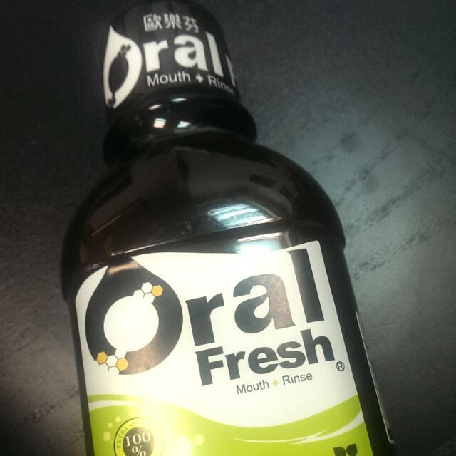 Oral fresh 歐樂芬漱口水