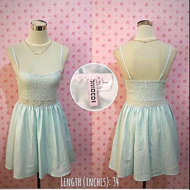 Original H&M Blue Dress